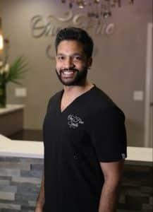 smiling guy dentist